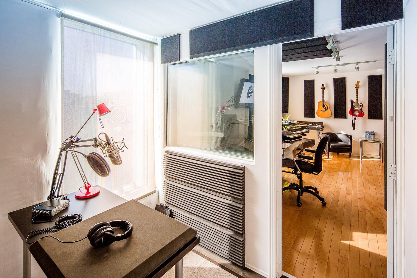 Intérieur de BAM Studio pour leur forfait PME