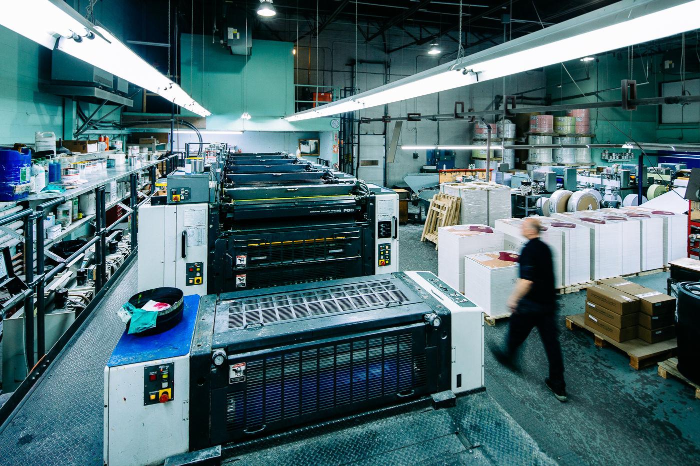 Usine de Nap-art imprimerie