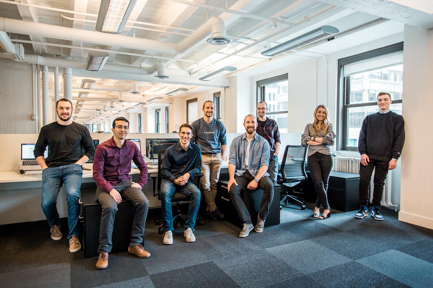 Portrait corporatif équipe complète Thirdbridge forfait PME