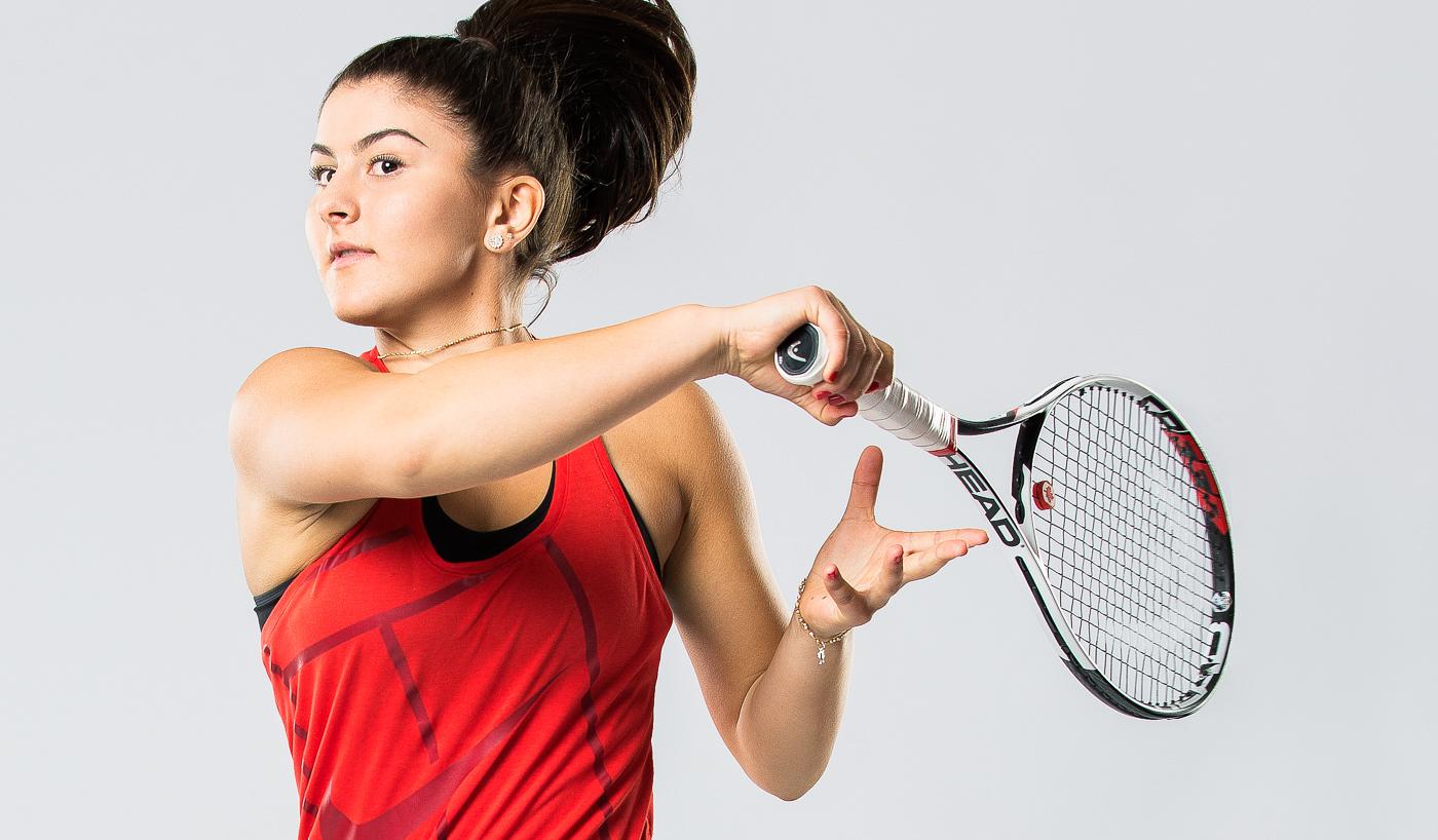 Portrait joueuse Tennis Canada Bianca Andreescu