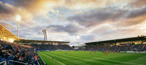 Publicite Kia avec Impact de Montreal au Stade Saputo