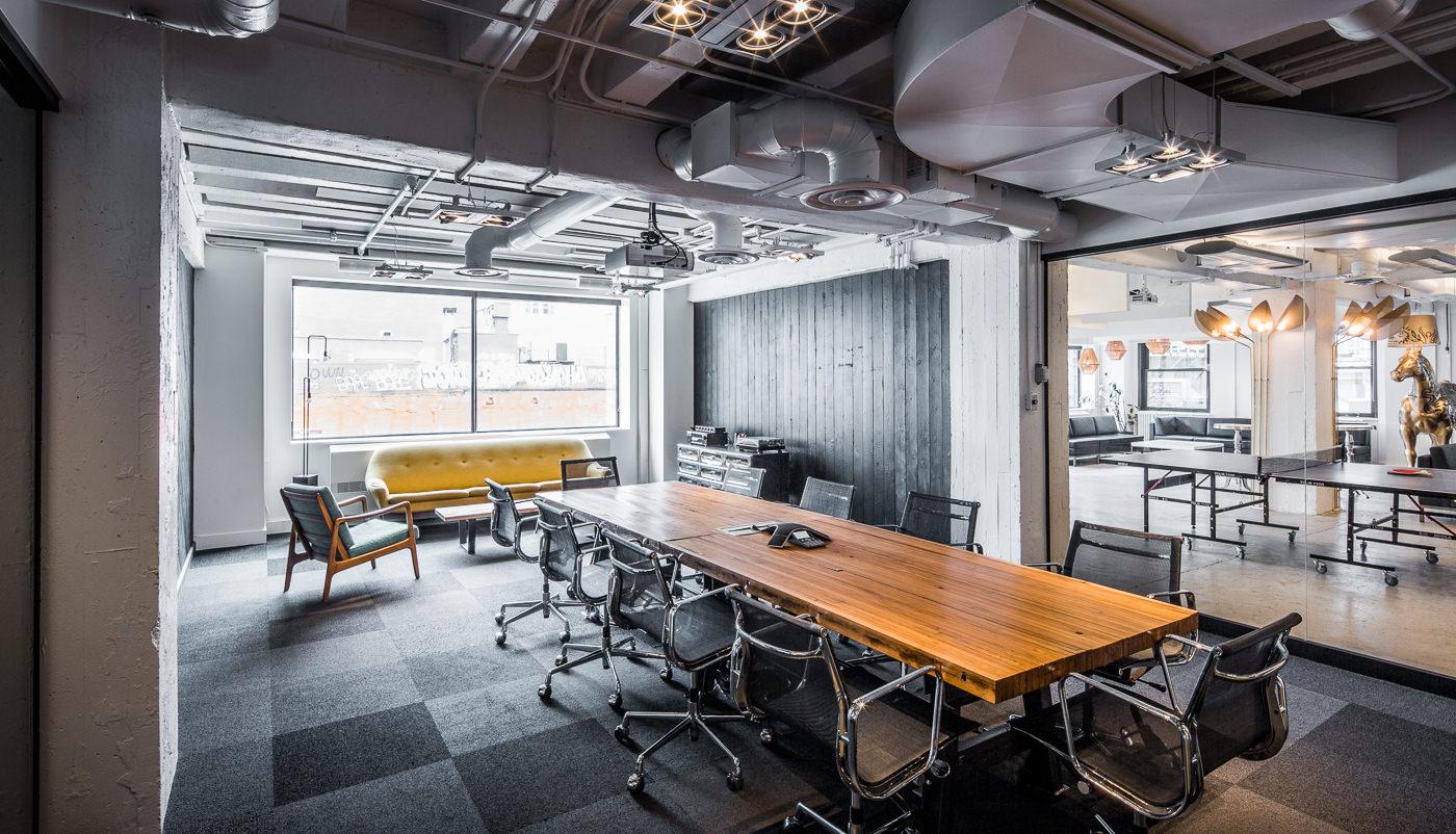 photo d'architecture forfait pme thirdbridge salle de réunion bureau