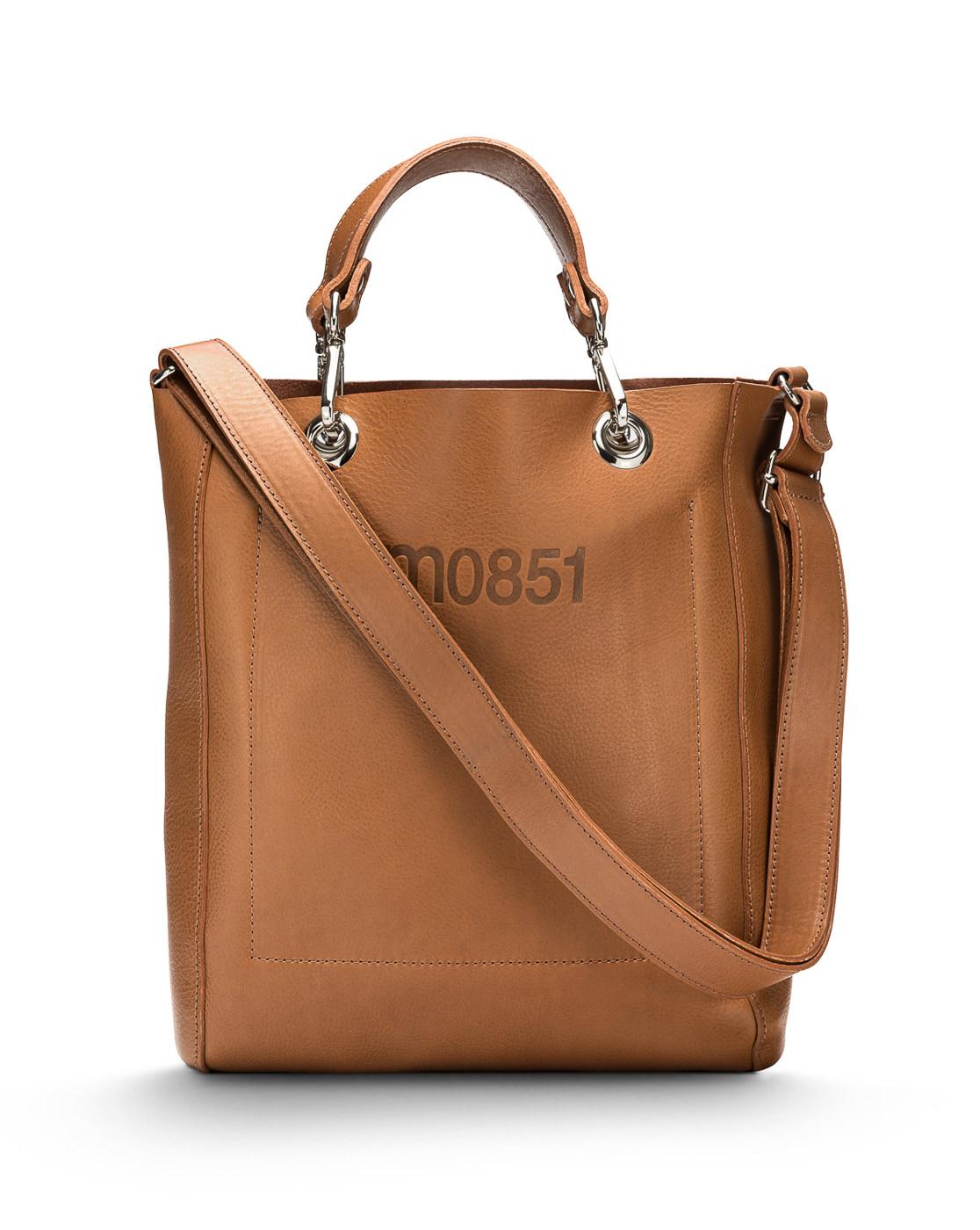 Sac cuir brun m0851