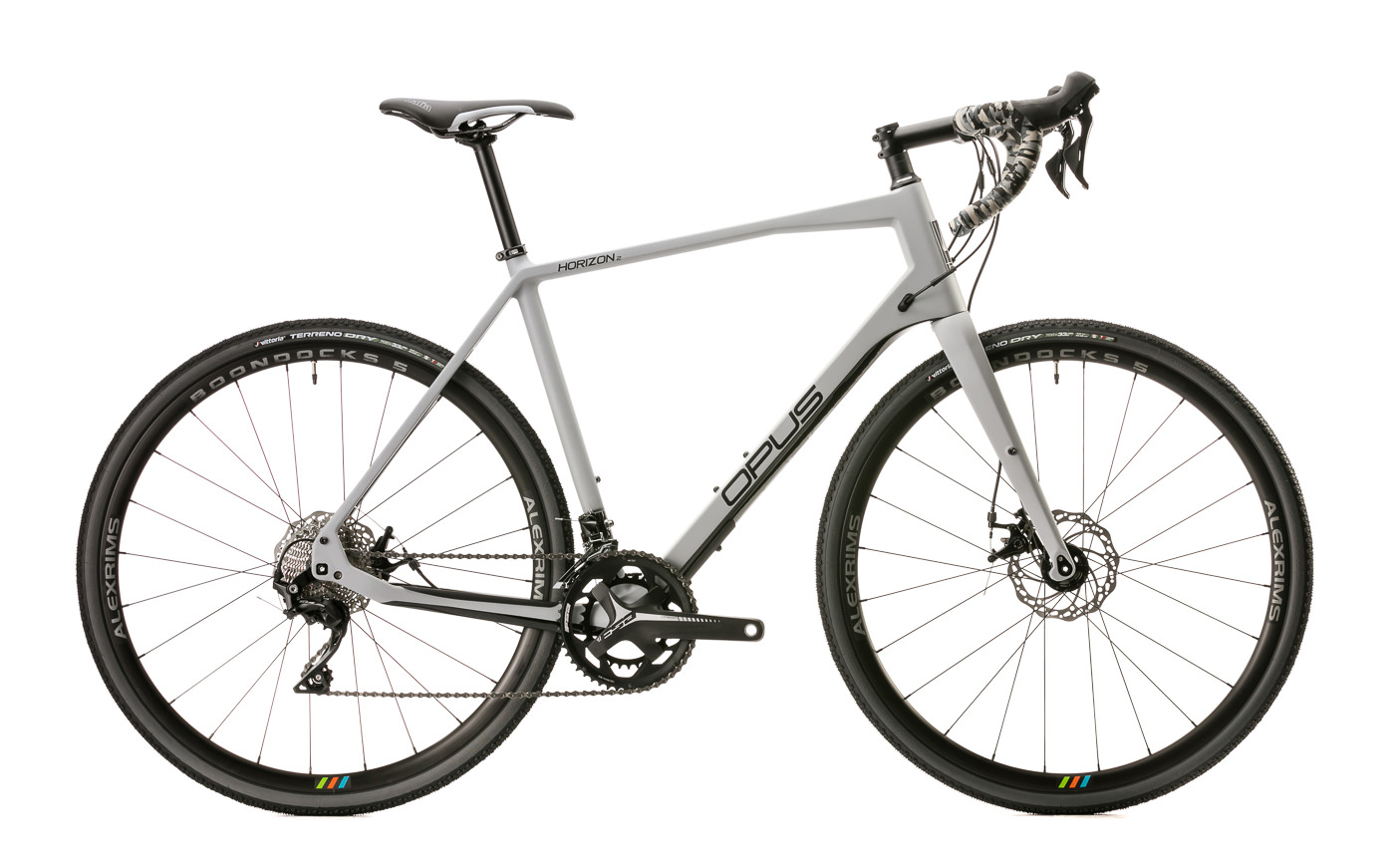 photo de produit velo opus modele horizon gris