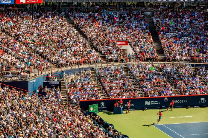 Coupe Rogers 2017 Tennis Canada Stade Foule Denis Shapovalov