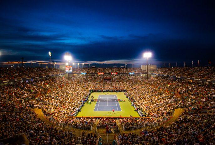 Coupe Rogers Tennis Canada Stade Soir Shapovalov Vs. Nadal