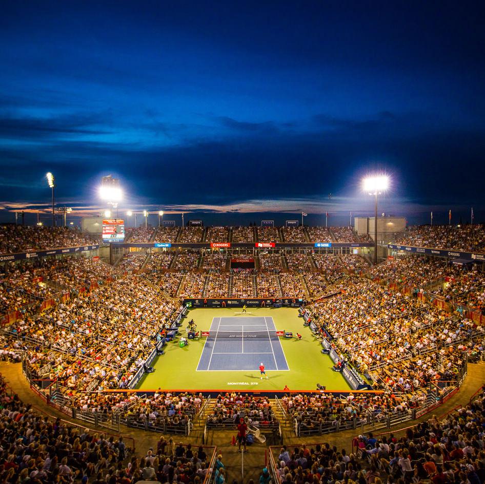 Coupe Rogers 2017 Shapovalov vs. Nadal soirée