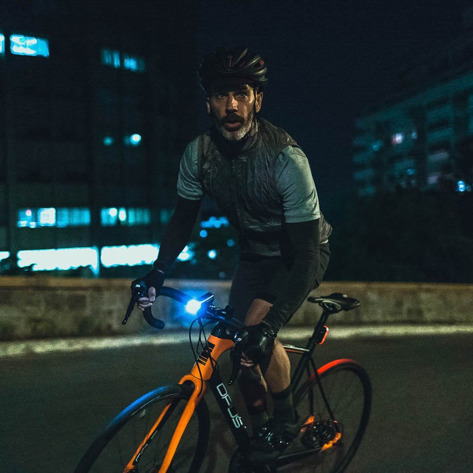 photo commercial campagne night ride opus bike