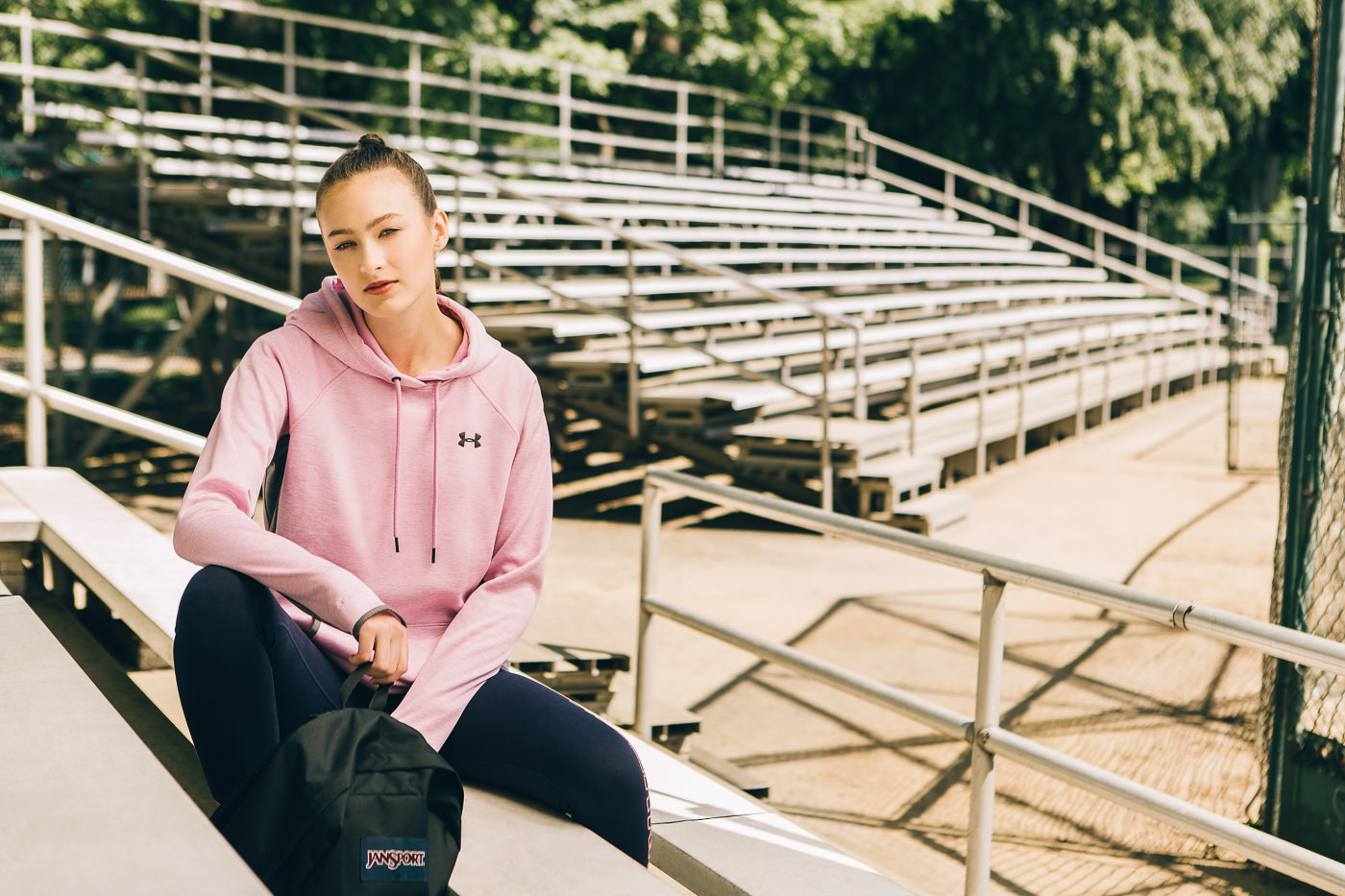 photo commerciale campagne back to school 2017 femmes sports experts