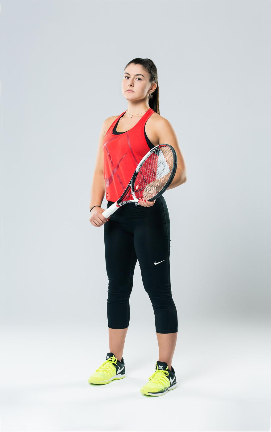 Portrait joueuse Tennis Canada Bianca Andreescu (2)