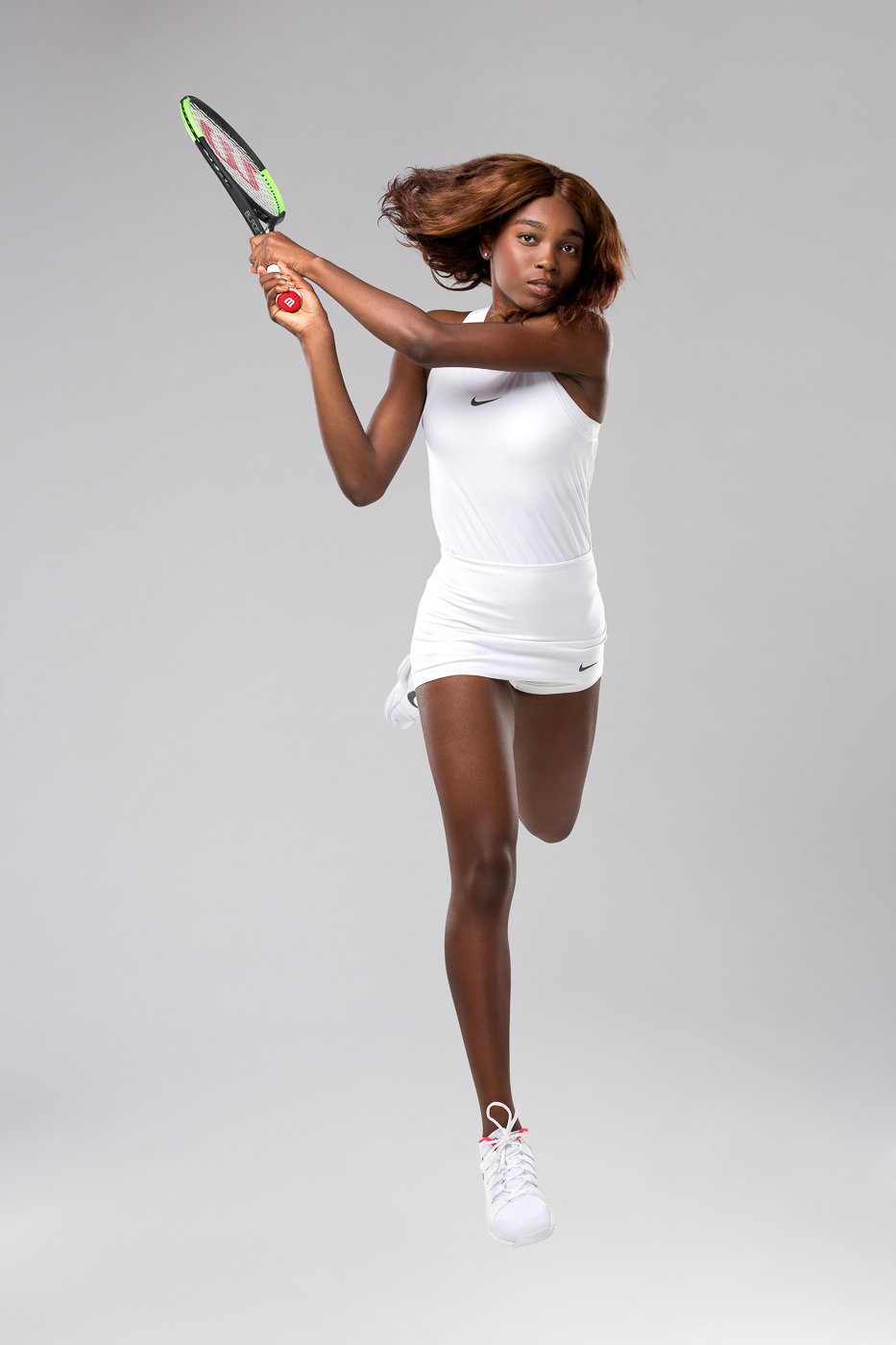 Portrait joueuse tennis canada Francoise Abanda