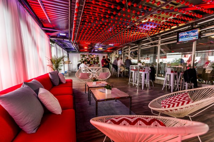 Lounge Bar Interieur Stade Banque National A La Coupe Rogers 2017