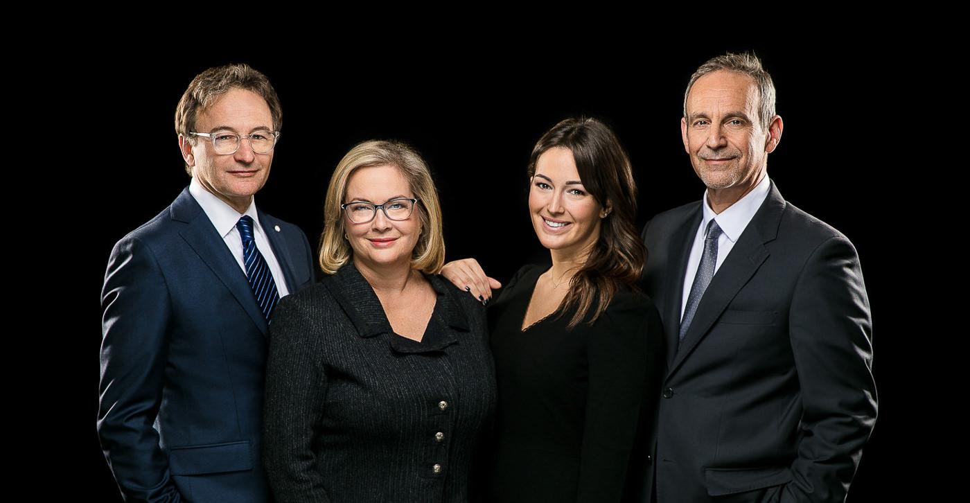 Portrait corporatif équipe Groupe Bernier