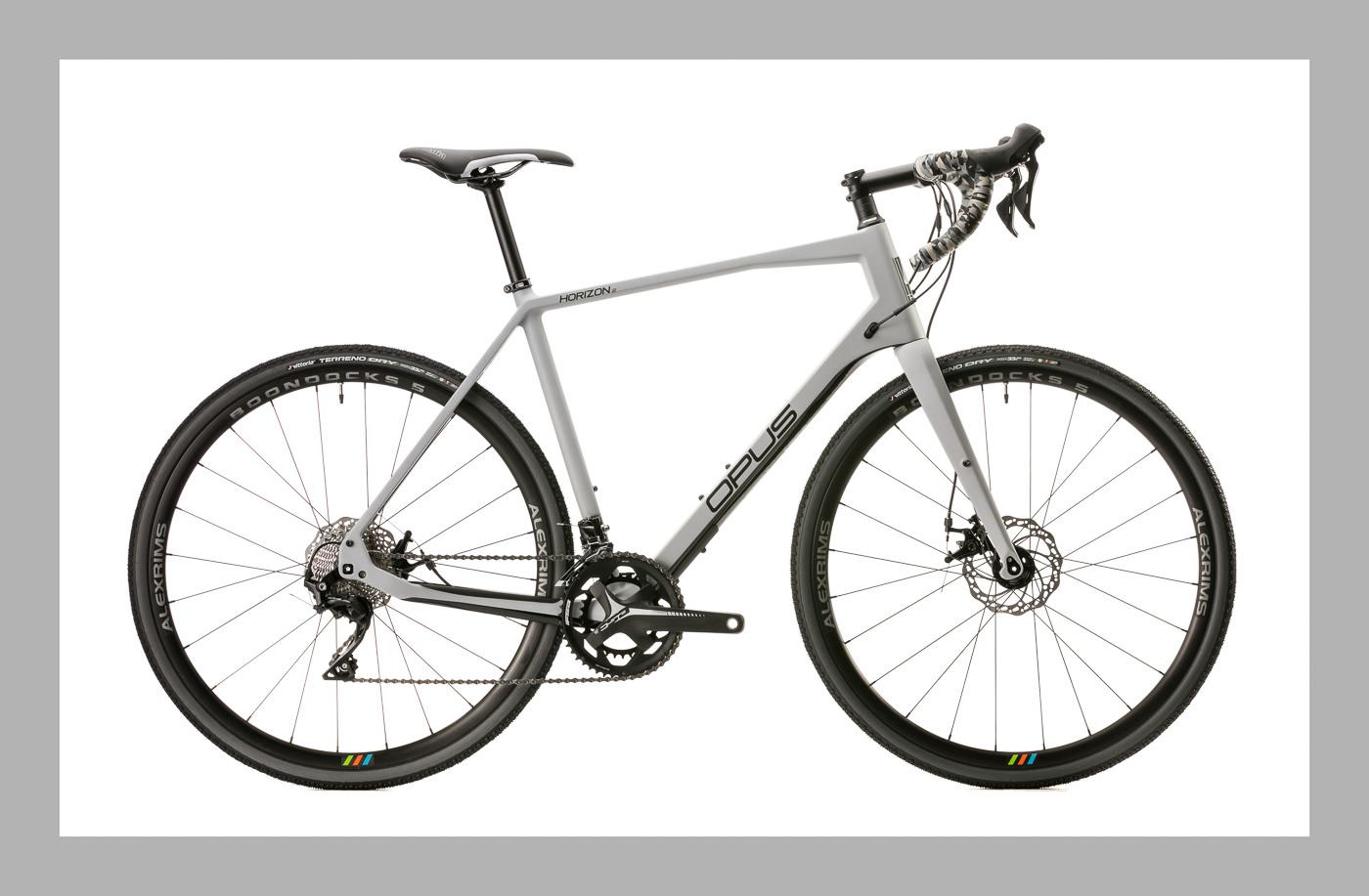 Vélo de route Opus Bike Horizon 2 gris acier
