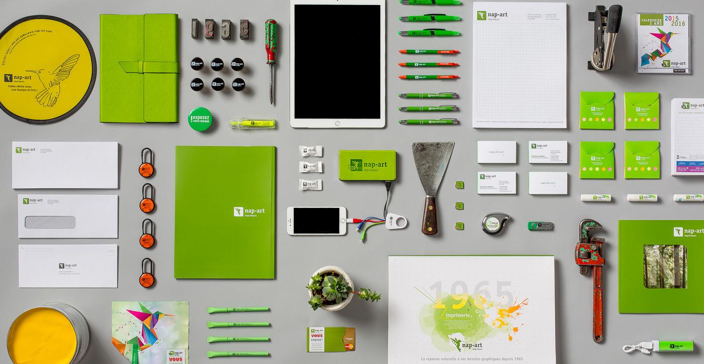 produits dérivés image de marque Nap-art imprimerie