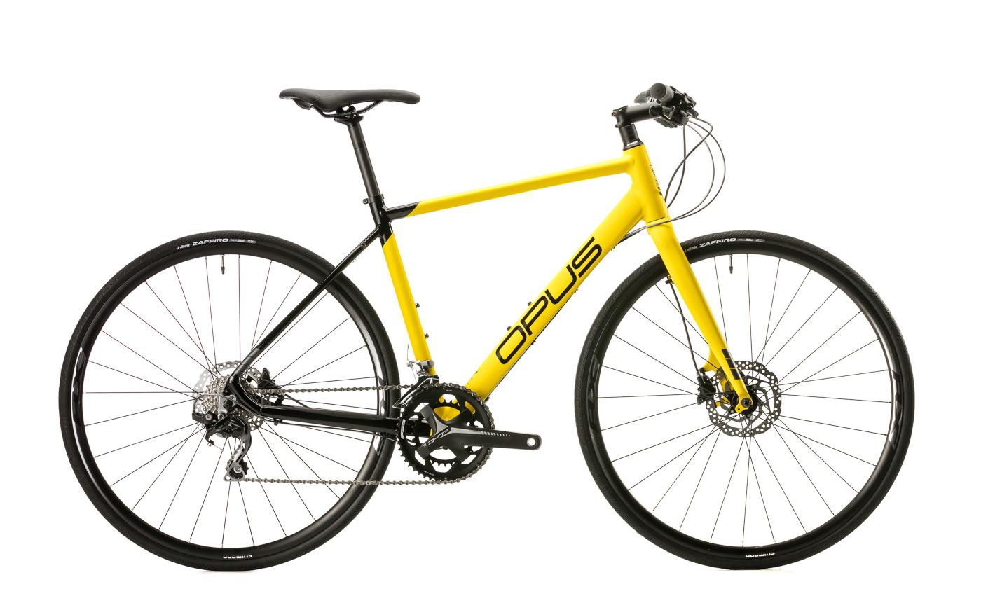 photo de produit velo opus modele horizon jaune