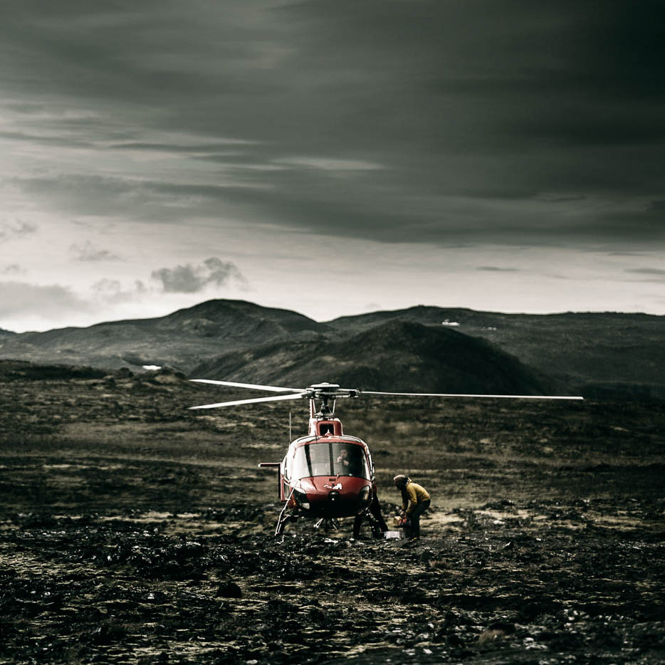 photo islande helicoptere outdoors blog post