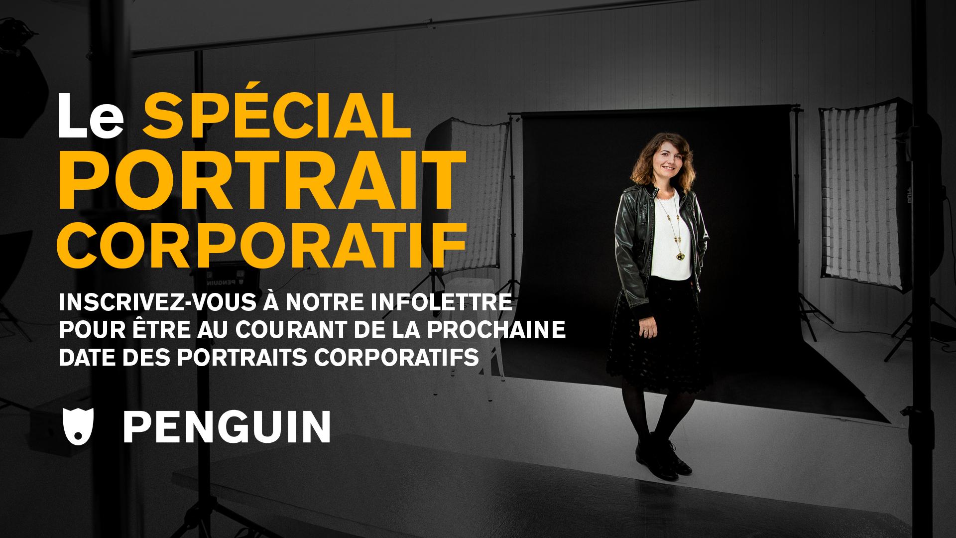 Bannière Pour Le Spécial Portrait Corporatif